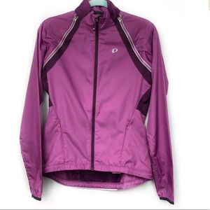 Pearl Izumi Purple Cycling Jacket Size Medium